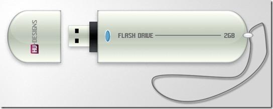 USB Stick Photoshop Tutorial