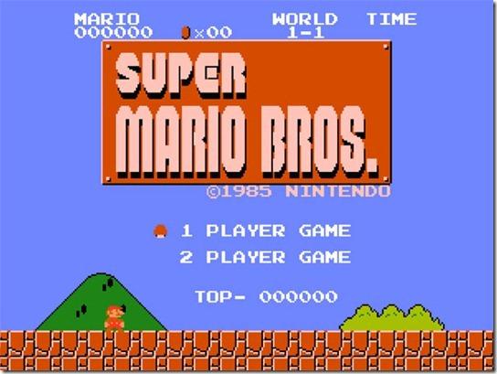 Super Mario Brothers (1985)