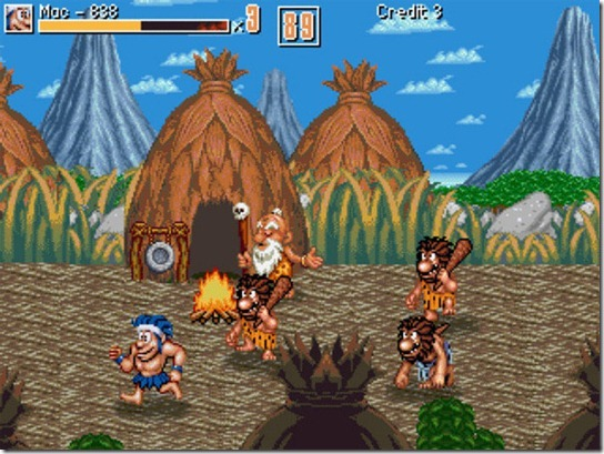 Joe & Mac Caveman Ninjas (1991)