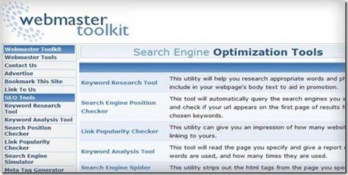 webmaster-toolkit