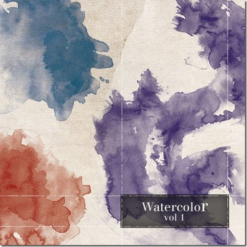 Watercolor Photoshop Brushes-1