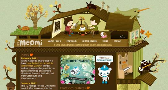 25 Best Examples of illustration in Web Design