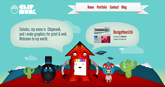 40 Creative Website Designs For Graphic Designers