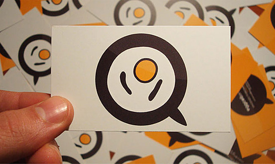 Eggcellence Business Card