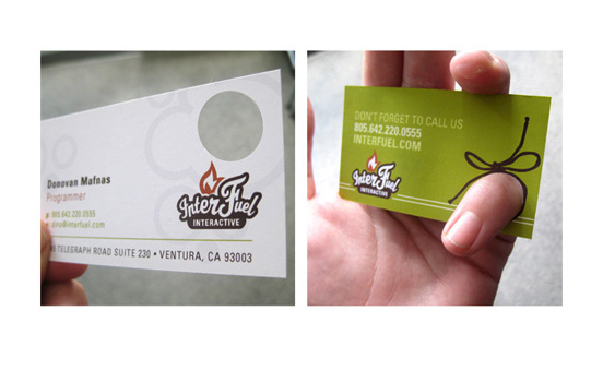 Interfuel Business Card