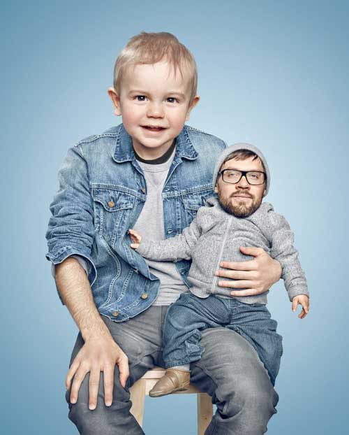 14 Disturbing Head Swaps Made in Photoshop