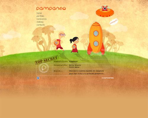 Orange Colored Website