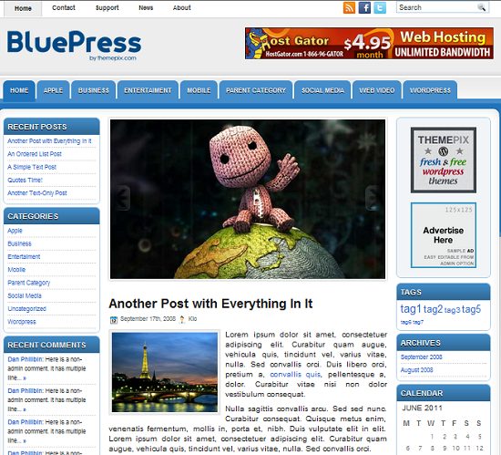 bluepress-theme