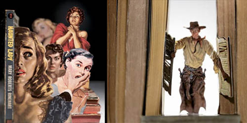3D Speculator Art Made From Book Covers