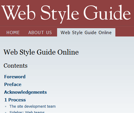 web-style-guide