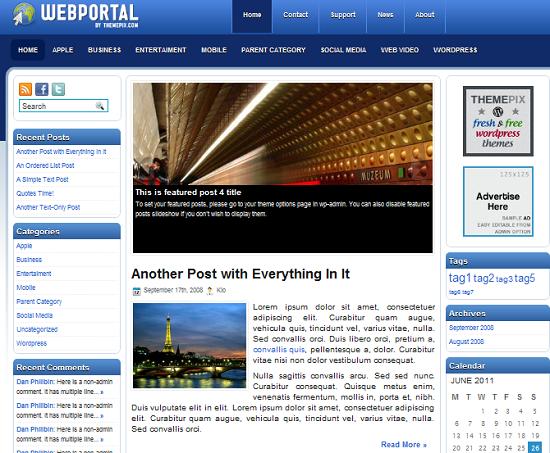 webportal-theme