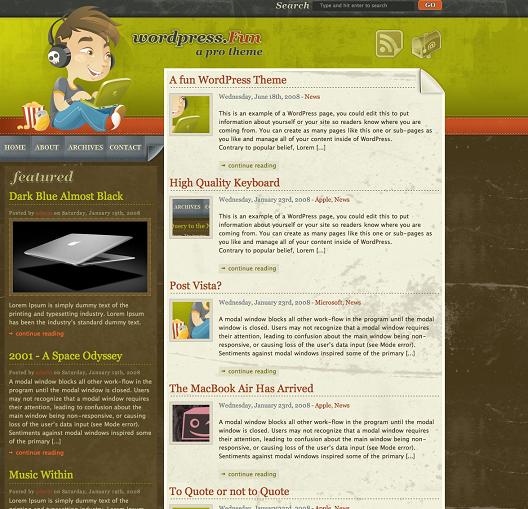 wordpress-fun-theme