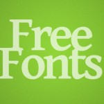 40 Hand Picked Free Fonts for Designers