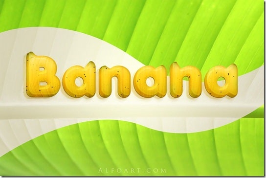 Banana-Style-Text-Effect
