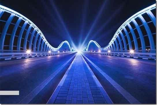 Bridge the light by Alisdair Miller
