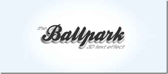 Design-a-Refined-3D-Text-Effect-L