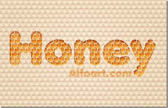 Honey-Bubbles-Text-Effect