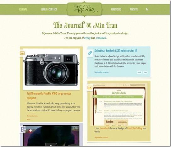 Masonry jQuery Web Design-11