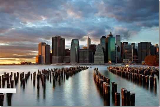 NYC Skyline by Fiorenzo Carozzi