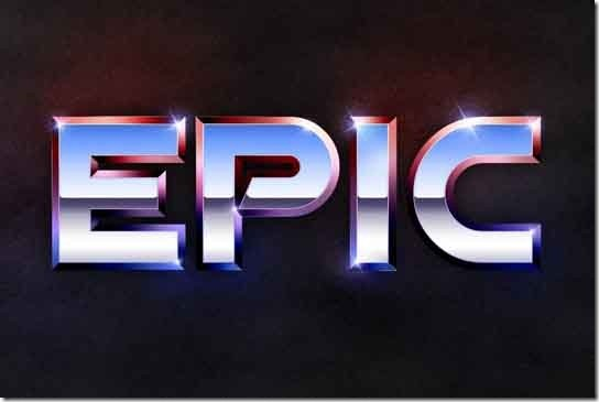 Recreate-the-Epic-80′s-Metal-Text-Effect-in-Photoshop