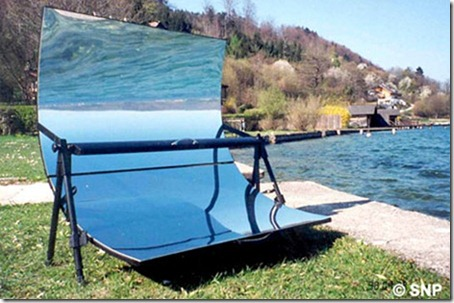 Solar Powered Barbecue Grill