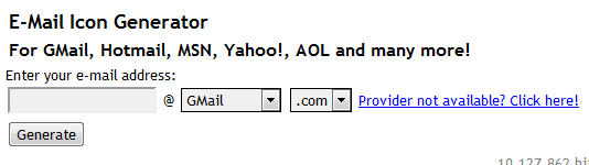 email-icon-generator