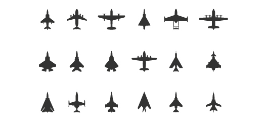 Free Aircraft Icons