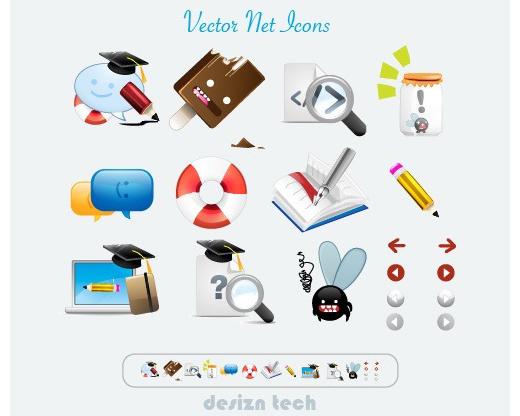 Free Vector Net icon