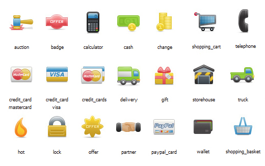 Kaching – Exclusive Free eCommerce Icons