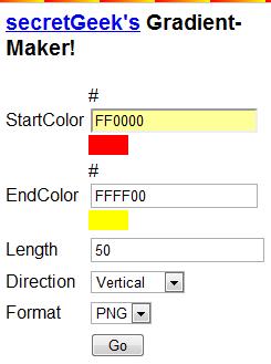 gradient maker
