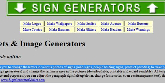 sign-generator