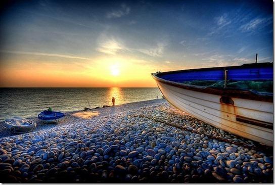 sun light on beach -12