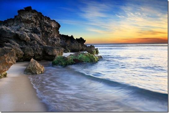 sun light on beach -9