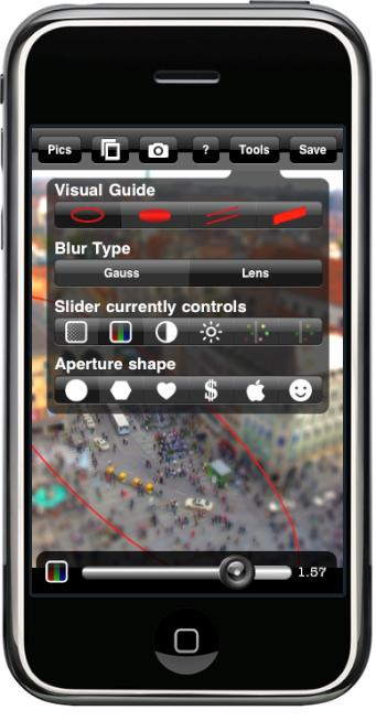 tiltshift app