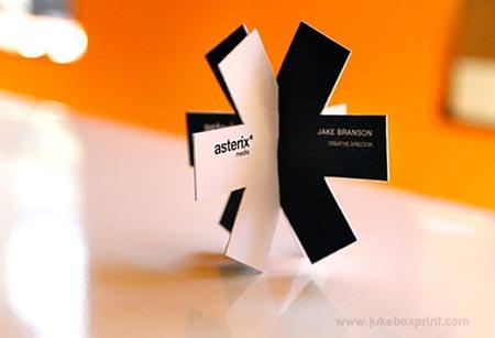 Cool Die Cut Business Cards