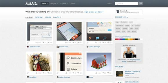 Dribbble - What are you working on-