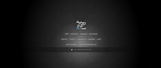 Stunning Examples of Black Web Designs