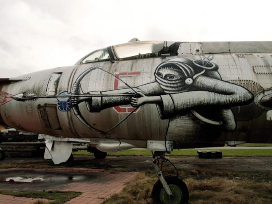 Awesome Ship Graffiti Art