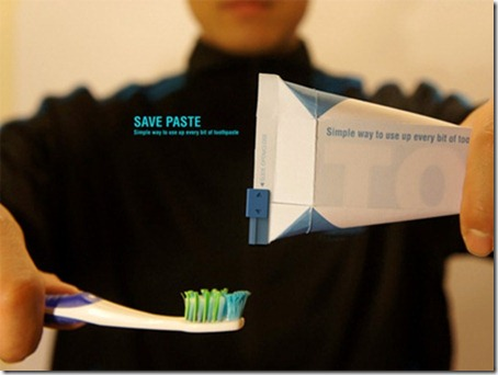 Innovative Toothpaste Packaging