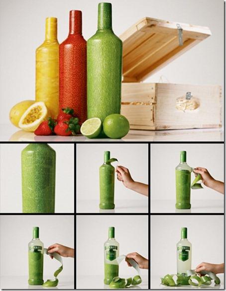 Peelable Bottles