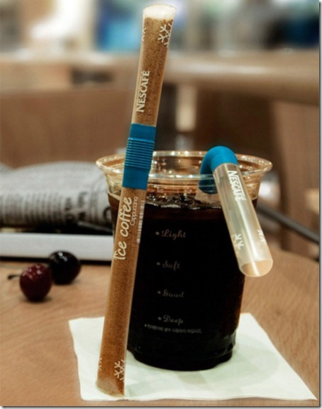 Coffee Mix Straw Packaging