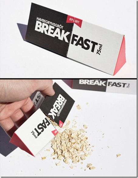 BREAK FAST Packaging
