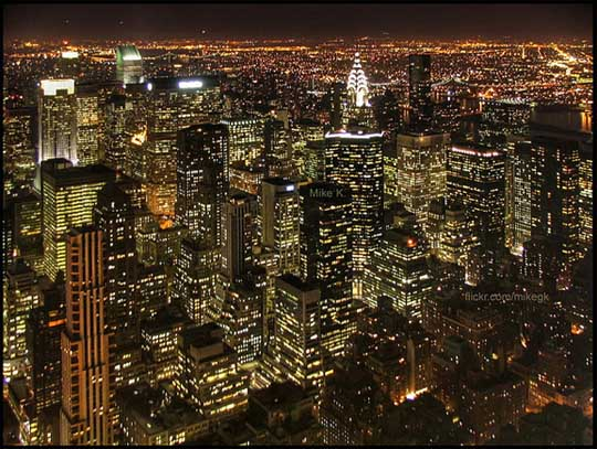 New York Night View