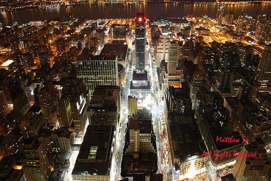 New York@Night