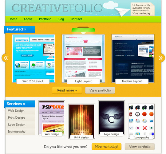 30 Photoshop Web Layouts Tutorials
