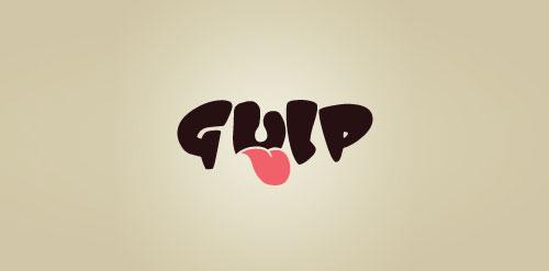 Gulp tounge Logo