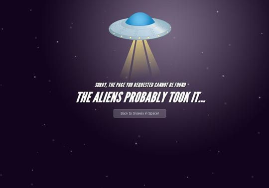 Cool Entertaining Designed 404 Error Pages