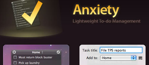 Anxiety mac app