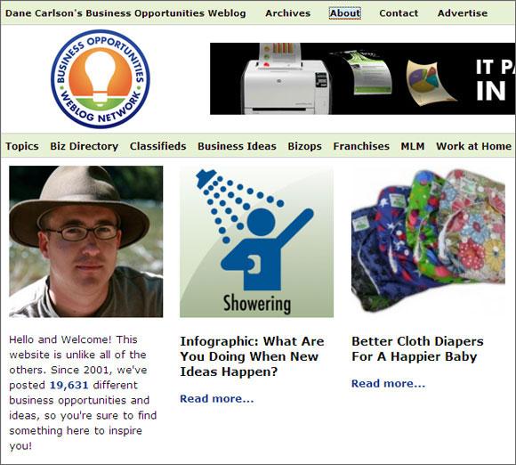 Creative Business Websites Ideas For Aspiring Entrepreneur