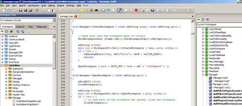 CodeLite mac app